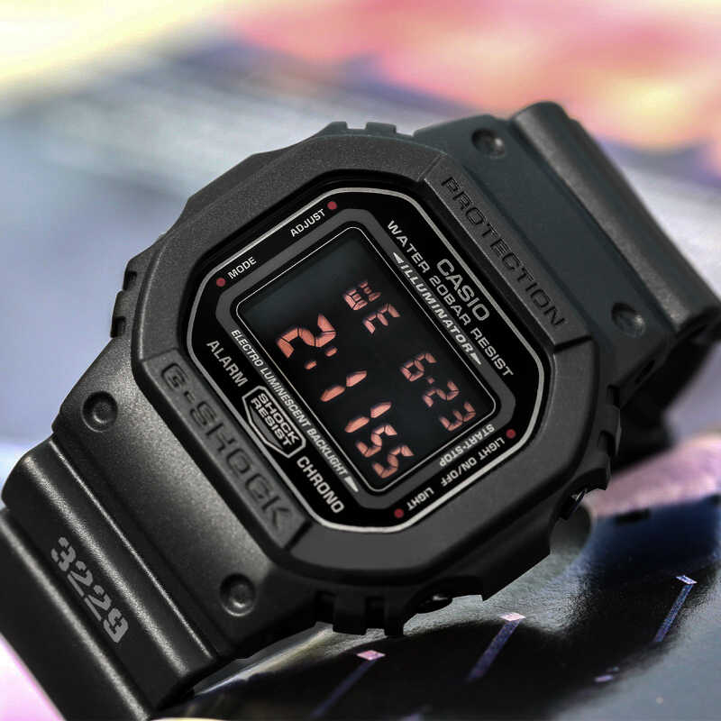 Đồng hồ Casio Exploding G Shock watch nam hàng đầu thương hiệu sang trọng Set quân đội Lặn thể thao cổ tay Relogio Đồng hồ kỹ thuật số mới G-SHOCK 200m Không thấm nước Quartz Men Đồng hồ đeo tay màu đen masculino reloj