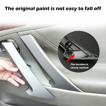 Car Inner Door Panel Handle Pull Trim Cover Armrest Auto Interior Accessories for Toyota Camry 2006-2011 image