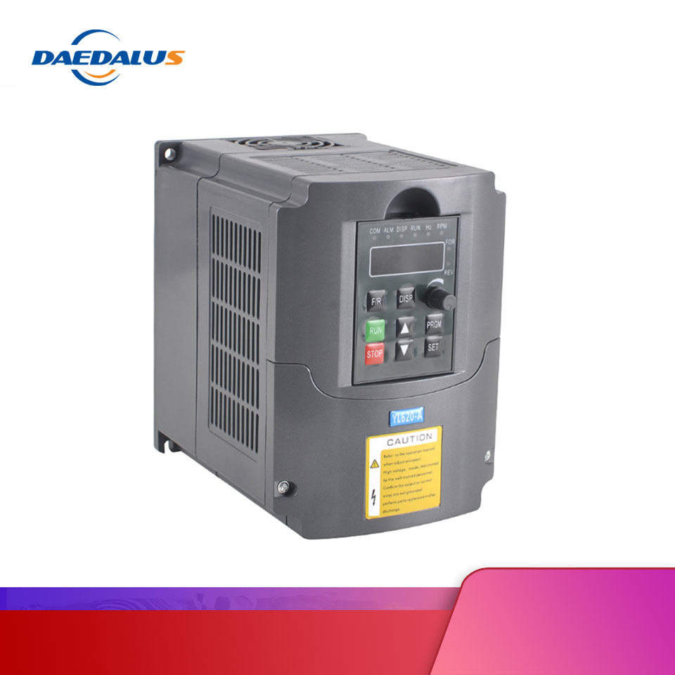 HJ frequency converter <font><b>2.2KW</b></font> VFD <font><b>Inverter</b></font> 220v Variable Frequency Drive 1HP or 3HP Input 3HP for motor <font><b>spindle</b></font> cnc image