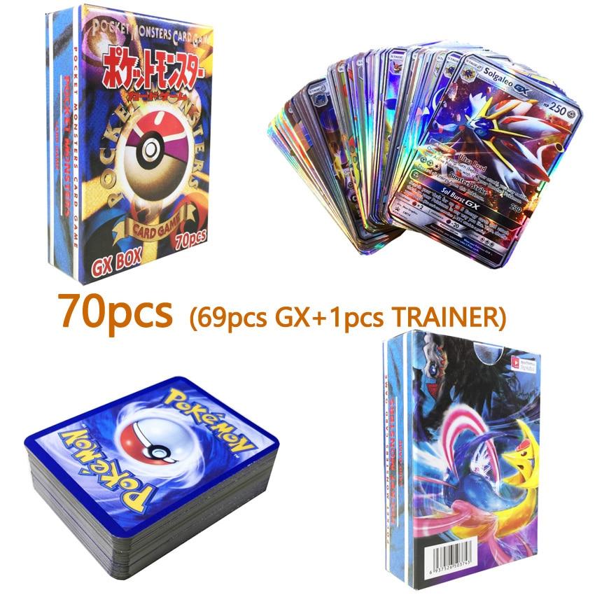 20 60pcs GX MEGA Shining TAKARA TOMY Cards Game Battle Carte Trading Cards Game Children Toy