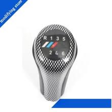 Цветная крышка из углеродного волокна Шестерня 6 файлов Ручной Блок передач для BMW E E87 E90 X1 X3 цветная крышка X5 6