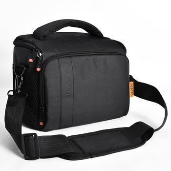 Fusitu Waterproof Nylon Shoulder Camera Bag DSLR Video Camera Bag For Sony Lens Pouch Bag Canon Nikon B500 P900 D90 D750 D7000 meikon 40m waterproof underwater camera housing case bag for nikon d7000 camera