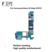 Марка CIDI используется оригинальная материнская плата для Samsung Galaxy S6 Edge G925V разблокированная материнская плата, логическая плата протестированная пластина