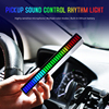 32LED Voice-activated Pickup Rhythm Light Car Atmosphere Desktop Audio Spectrum RGB Colorful LED Sound Music USB Light Adjustabl