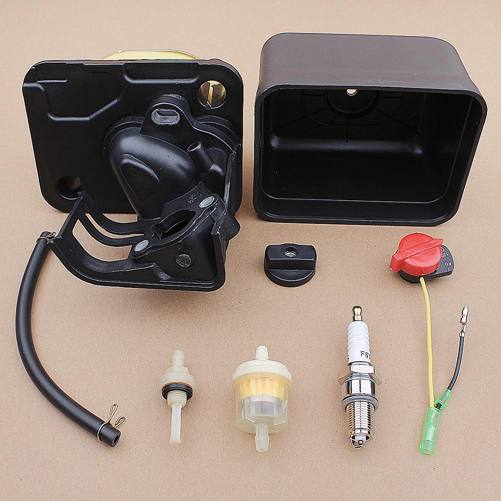 196cc 6 163cc Tool Filter Motor Assembly Engine GX200 GX140 Lawn 5 5HP 5HP Cover Housing Mower Honda 168F Air GX160 For Cleaner