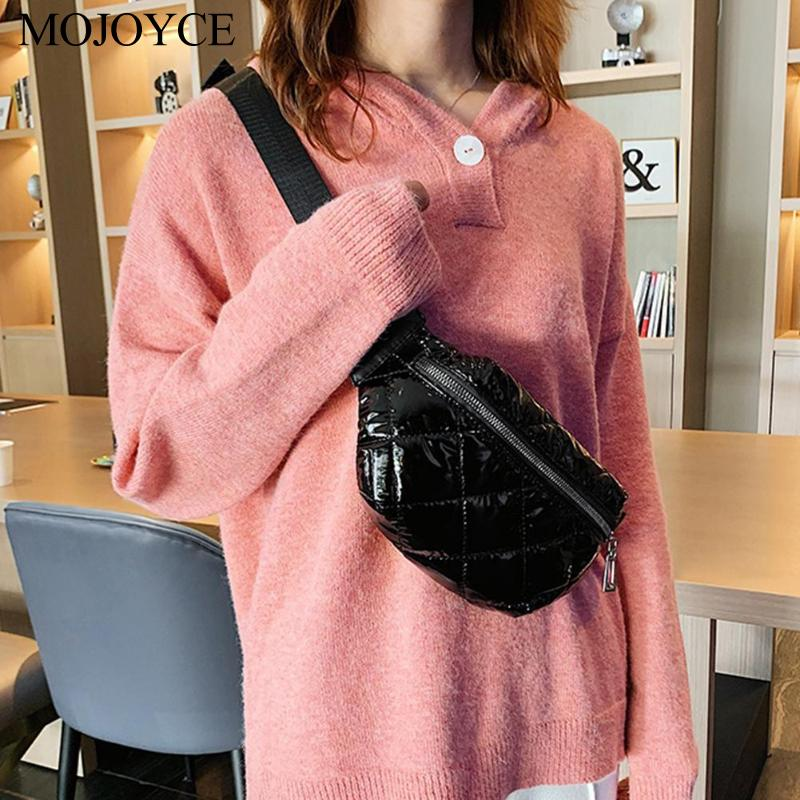 New  Women Waist Bag Autumn Winter Fashion Fanny Pack Shoulder Crossbody Bags Small Purse Phone Key Pouch Waist Packs Messenger