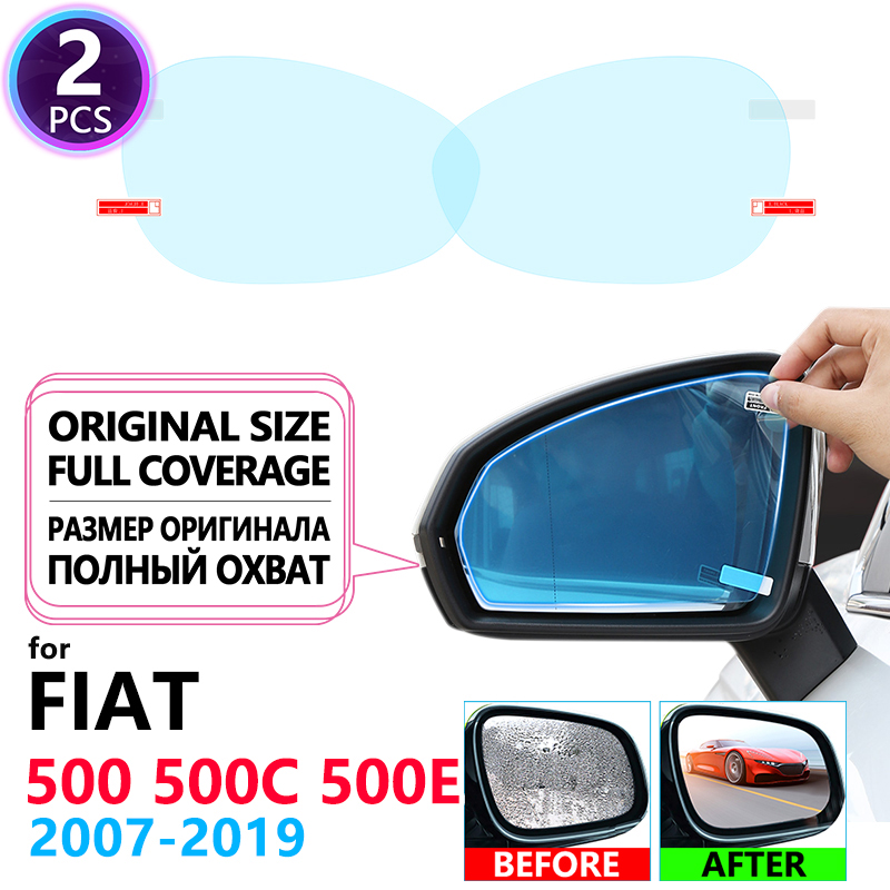 Full Cover Anti Fog Film Rainproof Rearview Mirror for Mercedes Benz S-Class W221 W222 S-Klasse S300 S320 S400 Films Accessories image