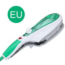 цена Portable Travel Handheld Iron Clothes Steamer Garment Steam Brush Hand Held Mini Steam Hanging Ironing Machine онлайн в 2017 году