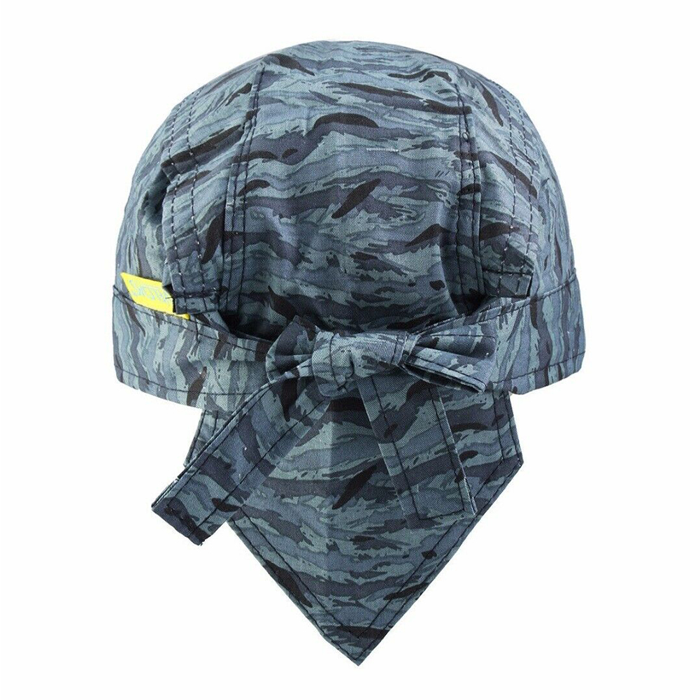 Head Protection Washable Scarf Breathable Blue Welding Cap Hat Flame Retardant