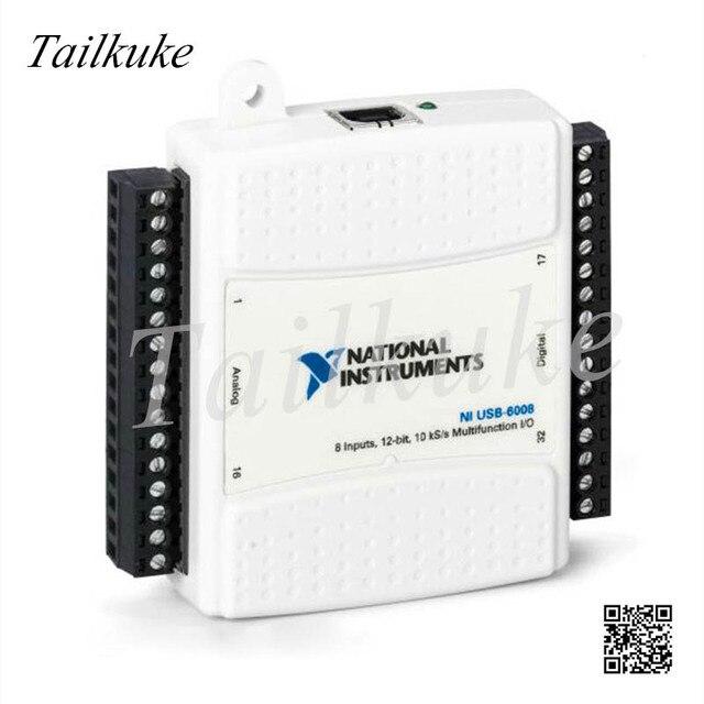 NI USB 6008 Data Acquisition Card Multi Function DAQ 779051 01