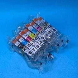 YOTAT 1 zestaw kompatybilny wkład z atramentem CLI-42 CLI 42 z chipem kompatybilny dla Canon PIXMA Pro-100 100S drukarki