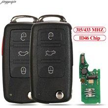 Jingyuqin дистанционный ключ без ключа для автомобиля 315 МГц