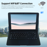 10.1inch Portable Netbook with Intel Atom X5-Z8350 CPU 4GB+64GB Memory 1280*800 IPS Screen WiFi/BT Connection EU/US Plug Netbook 2
