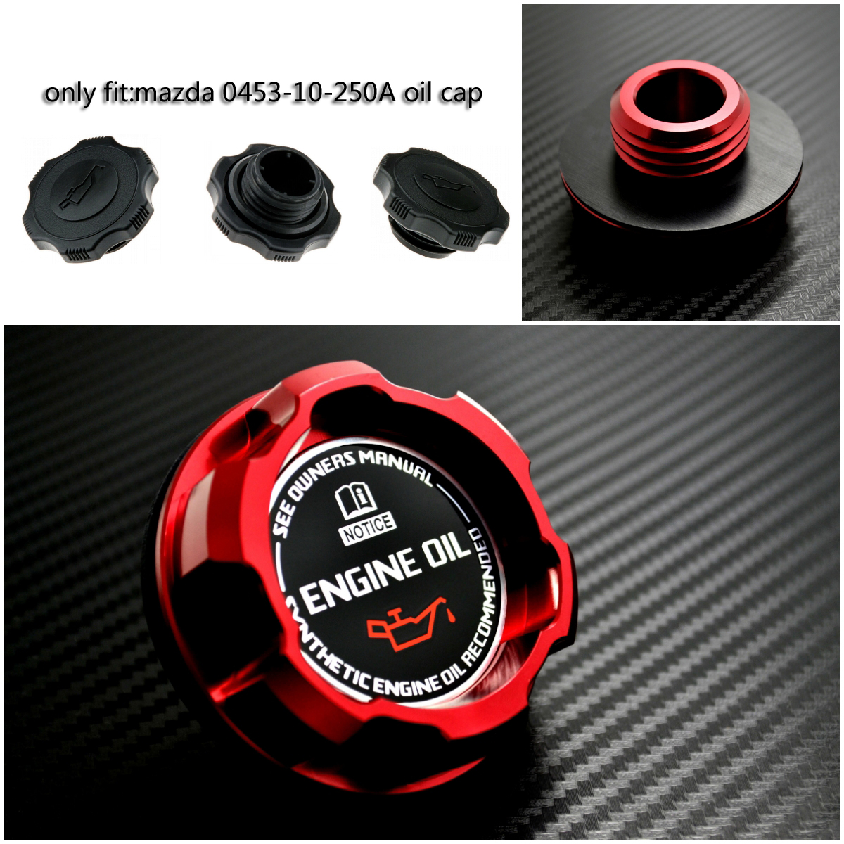 TRIDON B1600 B1800 B2000 B2200 Carb. New Oil Cap For Mazda B1500
