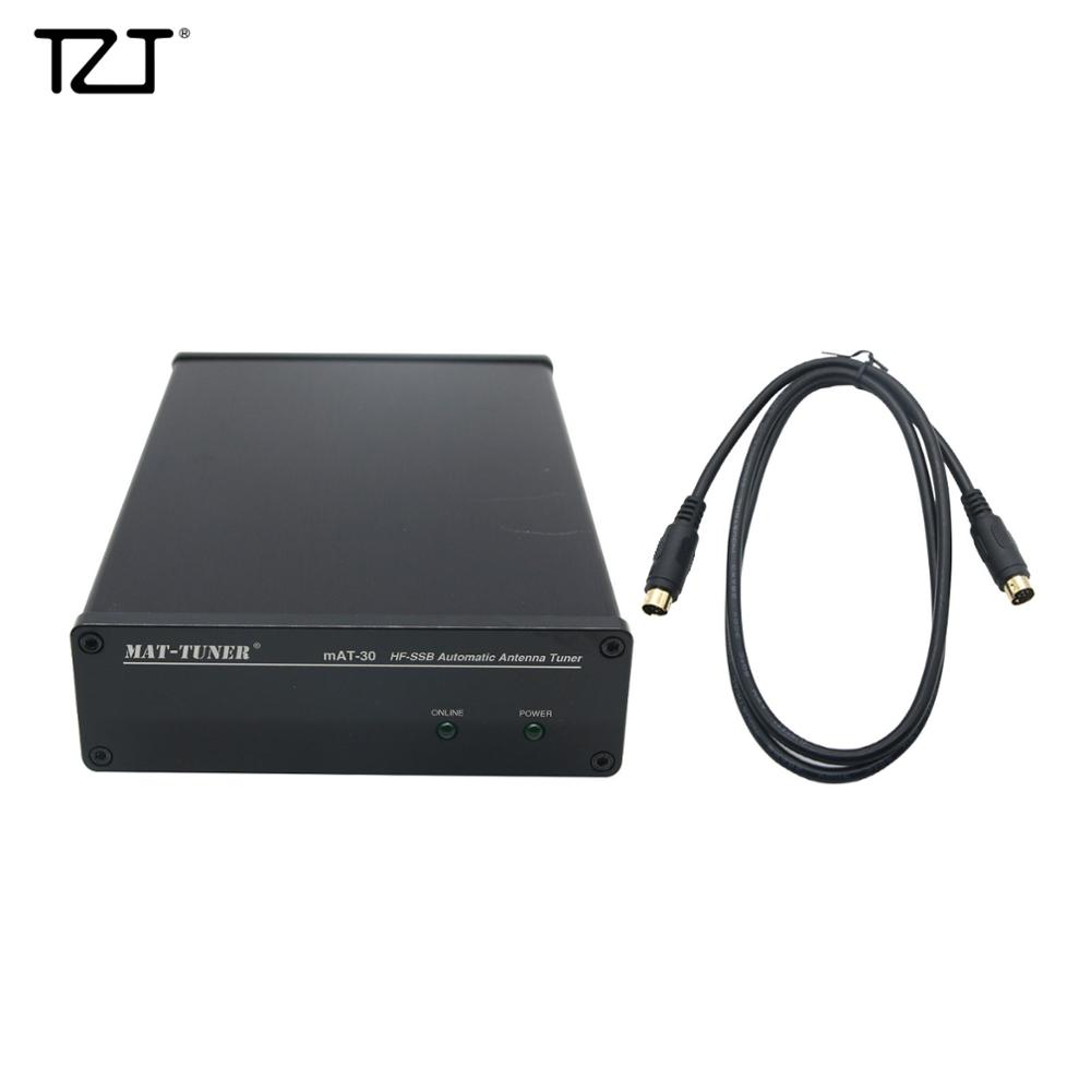 TZT MAT-30 HF-SSB Automatic Antenna Tuner 120W Auto Tuner Automatic Ham Radio For Yaesu