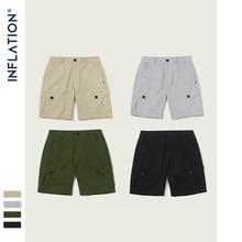 INFLATION2019 Nieuwe mannen Losse Casual Shorts 4 Stuks Mode Stijl Mannen Shorts Street Wear Pure Kleur Mannelijke Zomer Shorts 9320S