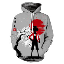 One Piece Hoodies 3D Print