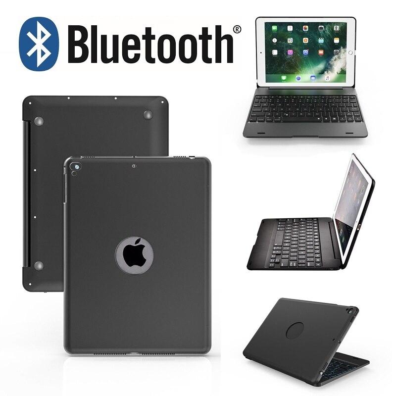 Neue Upgrade Ultra Slim IPad Pro 9,7 Tablet PC Bluetooth Tastatur AIR 2 Drahtlose Bluetooth Flip Tastatur