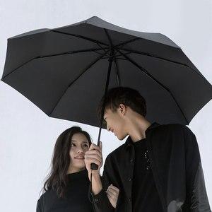 Image 3 - Xiaomi Mijia Automatic Rainy umbrella Sunny Rainy Summer Aluminum Windproof Waterproof UV Parasol Sunshade Man Woman  Winter