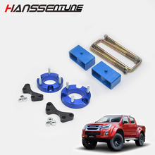 Spacer-Lift-Kits Suspension-U-Bolt D-Max HANSSENTUNE Front Rear 2-Block-Shock Raise Fit-For