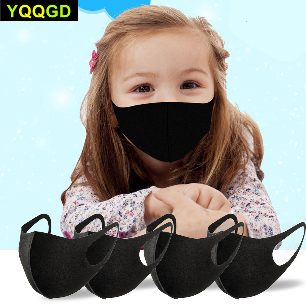 Kids Children Mouth Mask Anti Pollution Mask PM2.5 Air Dust Face Masks Washable And Reusable Mouth Cover