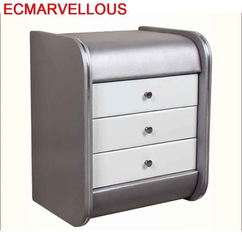 Noche Yatak Odasi Mobilya Szafka Nocna European Pu Leather Quarto Mueble De Dormitorio Bedroom Furniture Cabinet Nightstand