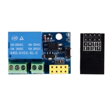цена на ESP8266 ESP-01S 5V WiFi Relay Module Things Smart Home Remote Control Switch for Arduino Phone APP ESP01S Wireless WIFI Module