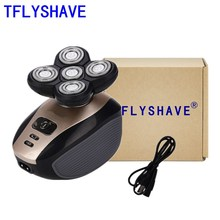 Multifunctional Men Electric Shaver Wet Dry For Men Electric Razor Rechargeable Bald Head Shaving Machine Beard Trimmer men multifunctional 5 in 1 electric shaver wet dry for men electric razor rechargeable bald head shaving machine beard trimmer