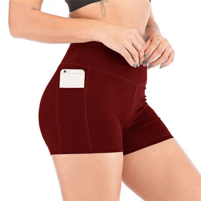 2021 New Short Women's Cycling Shorts Dancing Gym Biker Hot Active Lady Stretch Exercise Sports Running Short 4