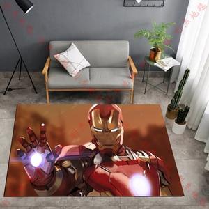 Avengers Marvel The Iron Man wycieraczka do butów dywan dywan sypialnia wycieraczka mata antypoślizgowa Cartoon prezent