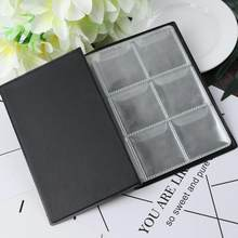 10 Pages 60 Pockets Album Silver Dollar Coins Collection Book Money Penny Collecting Storage Organizer Photo Albums Plastic(China)