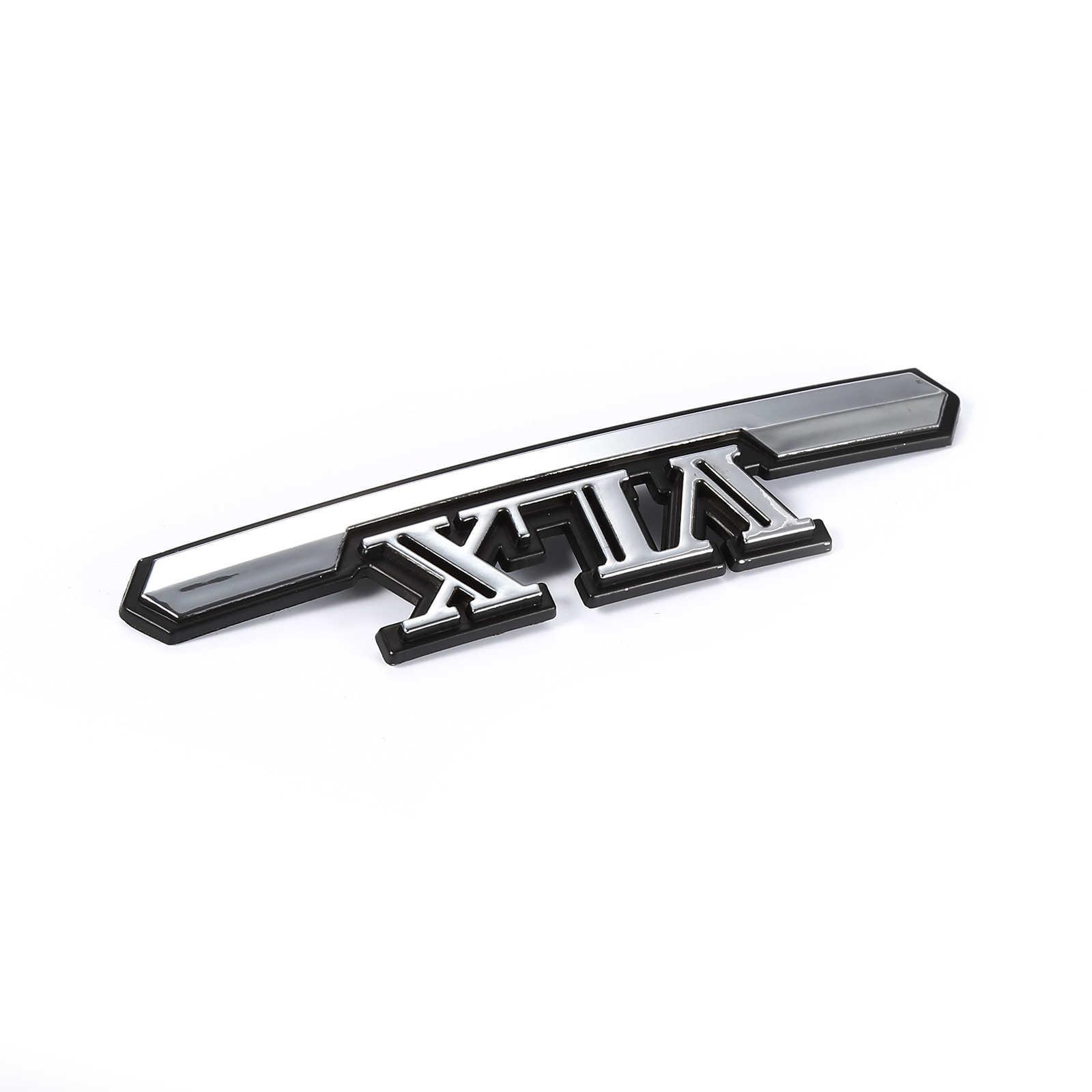 2 CHIẾC 3D Xe Máy Dán Chất Lượng Hàng Đầu Bình Gas Hiệu Huy Hiệu Nhựa Chrome Decal Cho Hondsa VLX Phụ cho Xe Máy