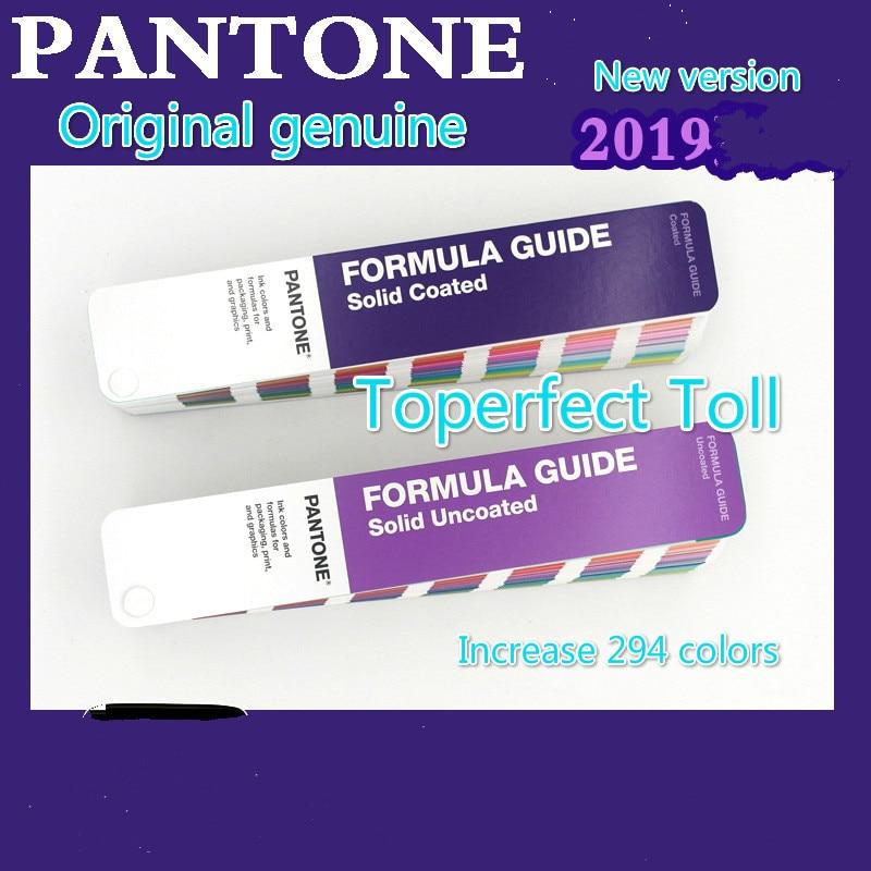 2019 New PANTONE International Pantone Color Card C U Color Card GP1601A Pantone Formula Coated Uncoated