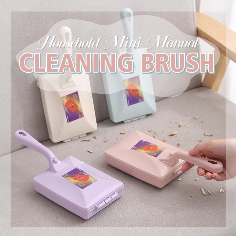 Household Mini Manual Cleaning Brush Dog Cat Pet Hair Remover for Furniture Carpets Cloth