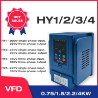 Water Pump Constant Pressure Water Supply Special Frequency Converter 0.75 1.5 2.2kw Universal three phase single phase wcj