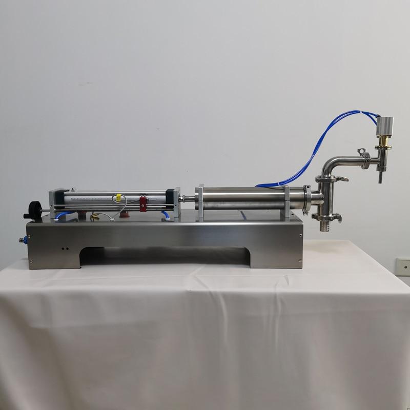 Pressurized Paste Filling Machine for Viscous Liquid Honey Sauce Cosmetic Gel Cream Food Beverage Machinery 220V Food & Beverages Machines