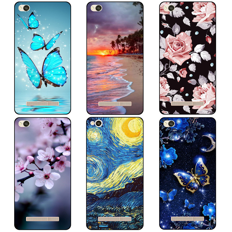 Fundas für Xiaomi Redmi 4A 5A 6A Fall Weiche TPU Silikon Farbige Malerei Telefon Fall für Xiaomi Redmi 6A Redmi4A 5A 6A Fall Abdeckung