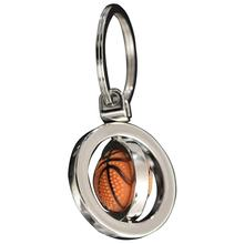 Creatieve Sleutelhanger Spinning Basketbal Voetbal Golf Sleutelhanger Decor Exquisite Hanger Decoratieve Ornament Ring Accessoires(China)