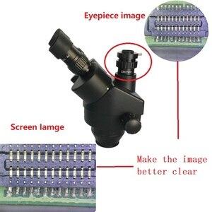 Image 5 - 38MP Hdmi Digitale Usb Microscopio Camera 3.5X 90X Simul Focal Trinoculaire Stereo Microscoop Solderen Pcb Sieraden Reparatie Kit