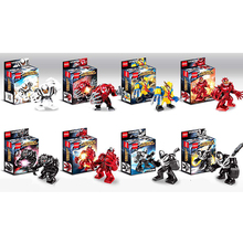 For Spiderman Spider-Man Far From Home Anti Venom Carnage Spider Gwen man batman Avengers Building Blocks Toys Figures B848 swd spider perch 100 0 4 13 25