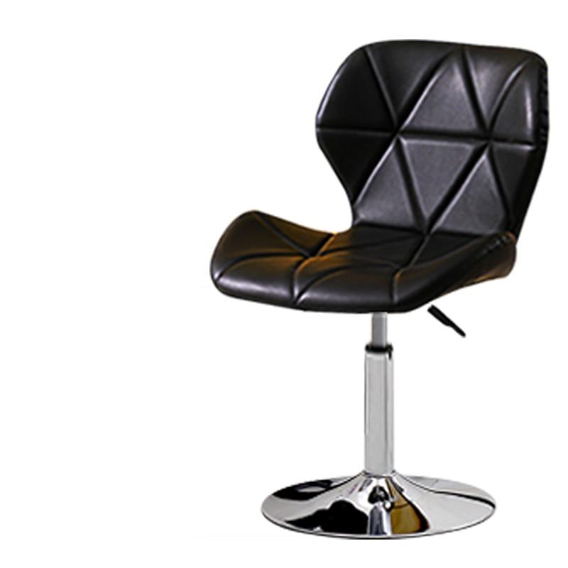 Bar Chair Fashion Creative Bar Chair Home Backrest High Chair Lift Bar Stool Beauty Manicure Stool High Stool