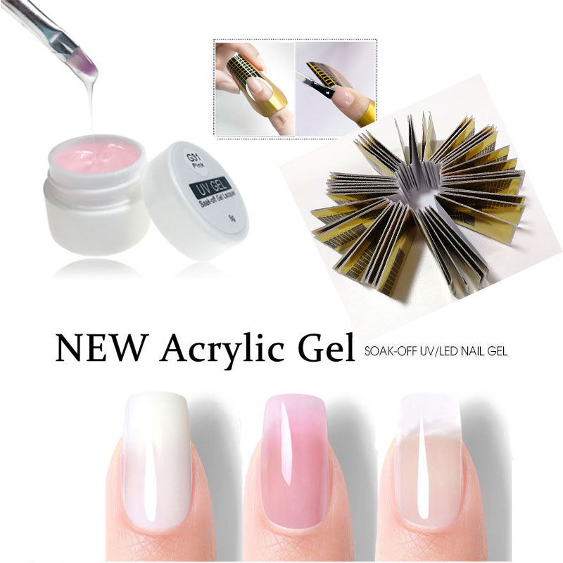 UV Gel For Nail Extension Gel For Nail Polish Gel Varnish Building Nail Art Tips Gels UV Construtor All For Manicure UV Gellak