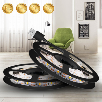 Tira de Luces LED de 0,5 M ~ 5M enchufe USB 220V,...