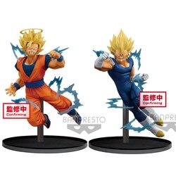 Tronzo Original D B Z Super Dokkan Battle Goku Majin Vegeta SSJ PVC Action Figure Collectible Model Doll Toys