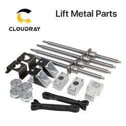 Cloudray моторизованный Настольный подъемный станок, металлические детали для CO2 резки и гравировки