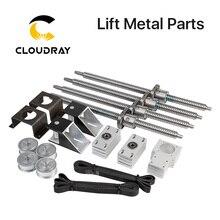 Cloudray ממונע למעלה ולמטה שולחן פלטפורמת מעלית מתכת חלקי CO2 חיתוך ומכונת חריטה