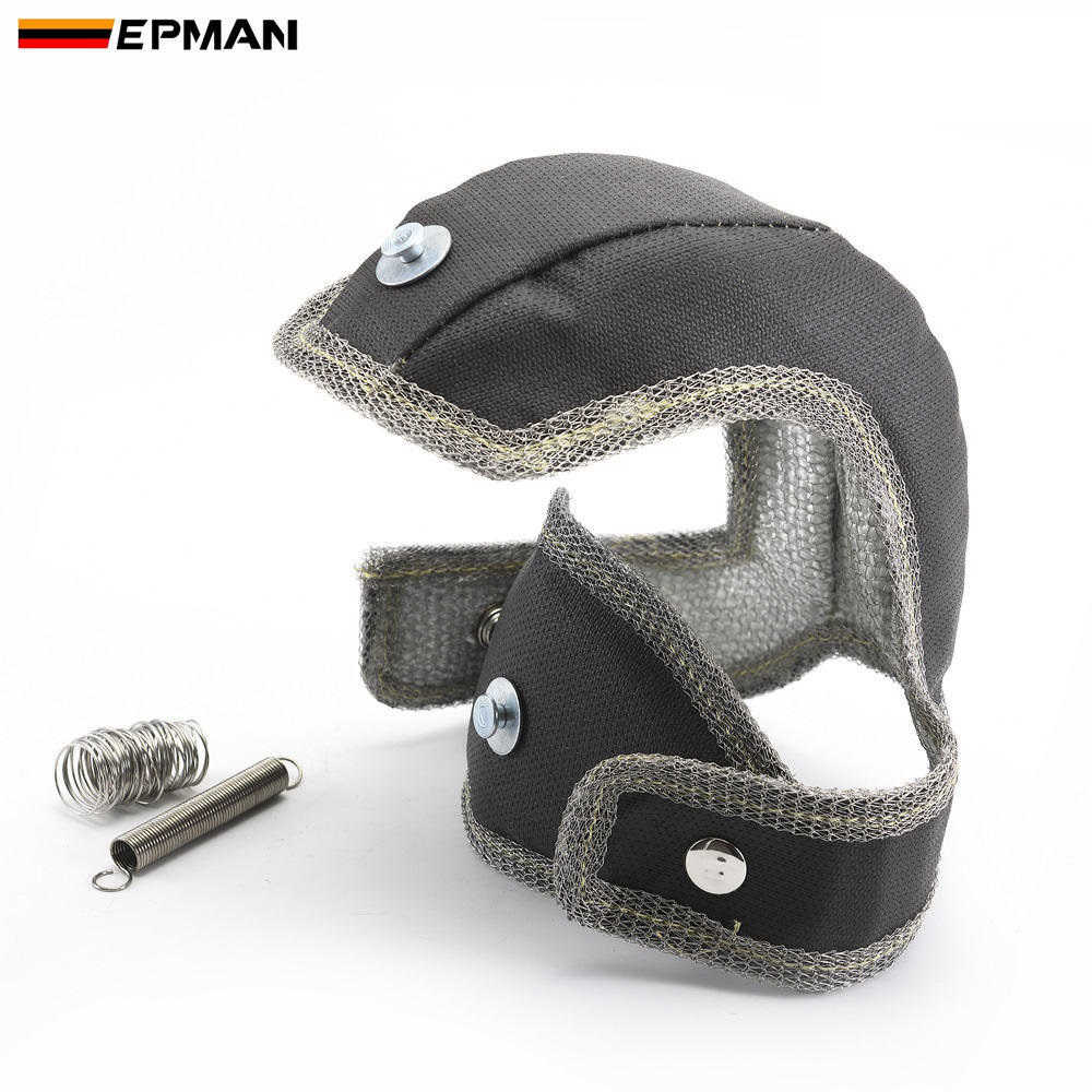 EPMAN Racing Turbo Blanket Heat Shield Cover For Audi S3 8V / For VW Golf GTi / For VW Golf R / For Leon Cupra EPTBBKS3B