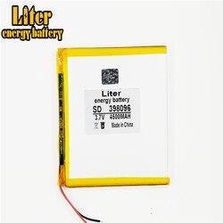 Bateria de lítio de polímero 7 8 9 polegada tablet pc 398096 3.7 v 4500mah lithiumion 'com alta qualidade