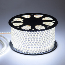 LED Strip 5050 SMD Light Waterproof Highlight Patch Indoor Dark Groove Warm & White Lamp Christmas