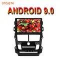 OTOJETA Android 9.0 2.5D lecteur d'autoradio écran pour TOYOTA yaris Vios à 18 bluetooth multimédia stéréo GPS Navi magnétophone